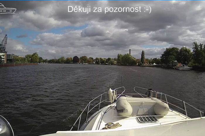Plavba 18.9.2019 Potsdam – kotviste – Kratky pokec o plavbe