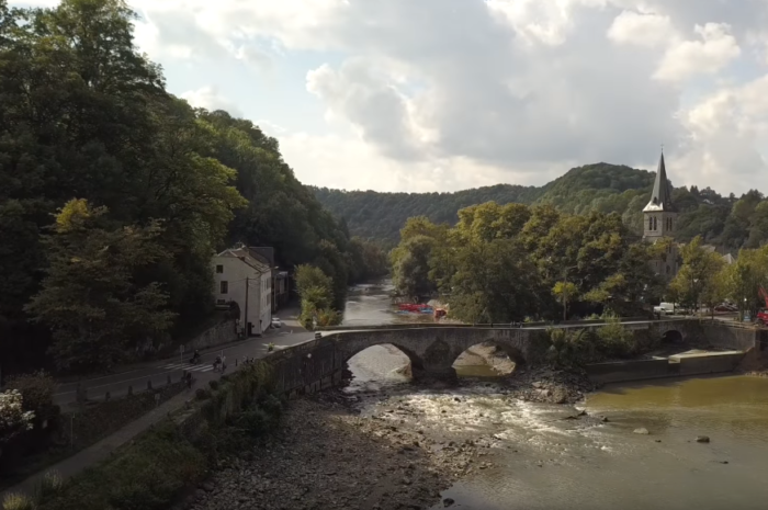 La Meuse bez vody :-)