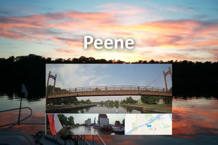 Řeka Peene